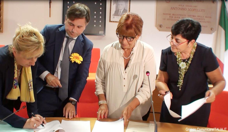 Comune di Gioia Tauro: Convegno stipula Protocollo d'Intesa per la Biennale