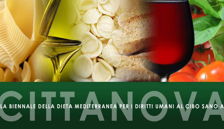 Cittanova: porte aperte alla Biennale della Dieta Mediterranea e dei Diritti Umani al Cibo Sano e Pace