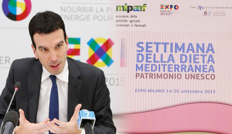MIPAAF e PromImperia a EXPO 2015 per Forum Dieta Mediterranea. Ospite la BIENNALE 2016