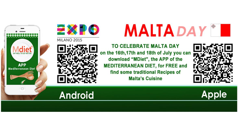 Nel Cluster Bio Mediterraneo presentata MDiet per festeggiare il MaltaDay