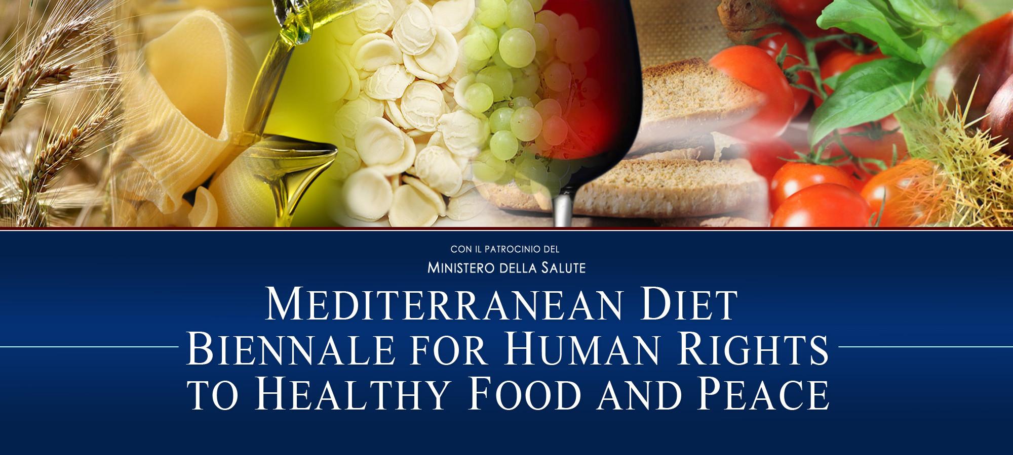 Biennale Dieta Mediterranea per i Diritti Umani la Cibo Sano e alla Pace